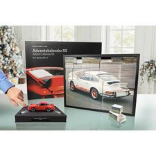 Porsche-Adventskalender 911CarreraRS2.7 - Tägliche Freude: der Adventskalender mit Bausatz des legendären Porsche 911 Carrera RS. Als Modell im Maßstab 1:24.