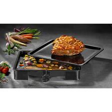 InnovativerOfenbräter - Eine echte Innovation: der Ofenbräter mit genialer Bratensaft-Auffangfunktion. Keine wertvolle Flüssigkeit verdampft.