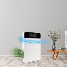 6-in-1AirPurifier - Der bessere Luftreiniger: hocheffektive 6-fach-Filtertechnik – für bis zu 99 % reine Luft.