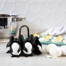 EierhalterEgguins - Mit einem Griff bis zu 6 Eier kochen und servieren.