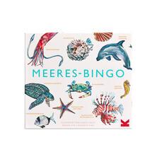 Enthält 12Bingo-Karten, 64Spielkärtchen, 200Markierungs-Chips, Spielbrett, Stoffbeutel, Broschüre.
