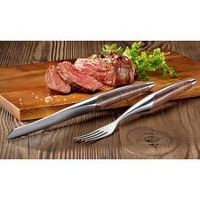sknifeSteakbesteck oder Steakmesser,2er-Set - Das Steakbesteck berühmter 3-Sterne-Restaurants – jetzt auch für Ihr Zuhause.
