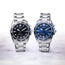 Seiko Kinetic Armbanduhr - Läuft bis zu 100-mal länger als herkömmliche Automatik-Uhren. Mit 6 Monaten Gangreserve. Für Damen und Herren.
