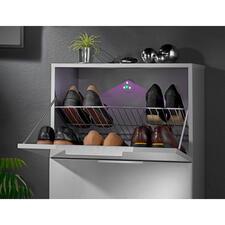 UV-Geruchskiller - Die natürliche Hilfe gegen schlechte Gerüche. Selbstklebender Sticker reinigt die Luft in Schrank, Mülleimer, WC, ...