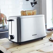 Turbo-EdelstahltoasterAT2513 - Der vermutlich schnellste Toaster der Welt.