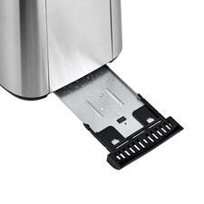 Herausnehmbare Krümelschublade mit Komfortgriff – für eine einfache und praktische Reinigung.