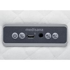 Einfach zu steuern per integriertem Bedienfeld mit USB- und Kopfhöreranschluss.