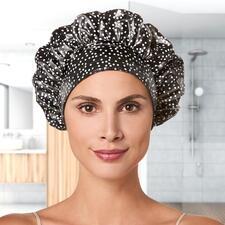 TIARA® Duschhaube - Hält zuverlässig trocken, schont die Frisur und hinterlässt keine Abdrücke.
