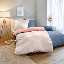 Sommer-Bettwäsche - 20 % leichter als die meisten. Hochfein glatt und weich vorgewaschen, mit angesagt matter Optik.