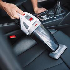S'Power®Akku-HandsaugerHV7146 - Saugt nass und trocken. Inklusive rotierender Turbo-Bürste besonders für Polster und Autositze.