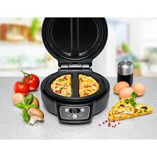 RommelsbacherOmelettChef - Perfekt gebackene Omeletts. 2 Stück zugleich. Einfach, sicher und sauber wie nie. Kein kniffliges Wenden. Nichts zerbricht. Nichts fällt daneben.