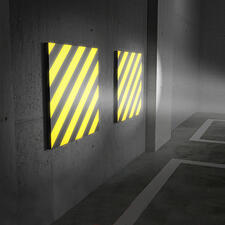 Garagenwand-Polster, 2er-Set