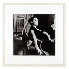 Will McBride – Romy Paris64 - Will McBride, Star der deutschen Fotografie-Geschichte, präsentiert seine erste Edition: Romy Schneider auf hochwertigem Baryt. Maße: gerahmt 58 x 58 cm