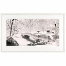 Koshi Takagi – Central Park - Fotorealistische Bleistiftzeichnung mit über 1 Million handgemalten Strichen. Die zweite Edition Koshi Takagis (die erste ist bereits ausverkauft). Maße: 125 x 65 cm