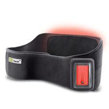 Infrarot beheizte Rückenbandage - Auf Tastendruck wohltuende Wärme. Zu Hause und unterwegs. Mit modernster Infrarot-Technik.
