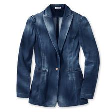 Cycle Jeans-Blazer - Der Oversize-Blazer: optisch nah an kernigem Denim – aber viel weicher und fließender. Von Cycle.