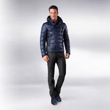 Versace Collection Coating-Jeans - Neuer, cooler Akzent: Das glänzende Coating der schwarzen Jeans.