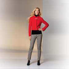 Versace Collection Pattern-Pants - Modisch wichtige, grafische Muster. Bei Versace außergewöhnlich ruhig und elegant kombiniert.