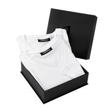 Lagerfeld Basic-Shirts - Das ideale Basic-Shirt: Puristisch schwarz oder weiß. Schlank geschnitten.