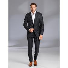 Lagerfeld Undercover-Karoanzug - Lagerfeld zeigt, wie elegant ein karierter Anzug sein kann.