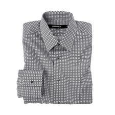 Lagerfeld Black & White-Hemd - Schwarz-Weiß: Dauer-Trend und der Signature-Look von Lagerfeld.