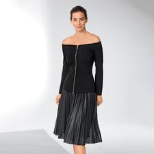 Pinko Off-Shoulder-Blazer - Bei Pinko wird der schwarze Blazer zum schulterfreien Trend-Piece.