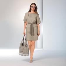 Les Copains Couture-Schürzenkleid - Trend-Style Schürzenkleid: Bei Les Copains mit Couture-Charakter und aus edlem Leinen.