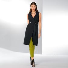 Versace Collection Long-Weste Dress up - Modisch wichtige Long-Weste und aktuelles Blazer-Kleid in einem. Von Versace.
