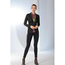 Versace Collection Mesh-Blazer - Ein schwarzer Blazer im Sommer? Unbedingt – wenn er so leicht und luftdurchlässig daher kommt wie der Mesh-Blazer von Versace Collection.