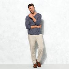 Lagerfeld Luxus-Basic-Pulli - Leicht, lässig und doch edel: Der perfekte Basic-Pulli kommt von Lagerfeld.