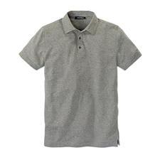 Lagerfeld Piqué-Leinen-Polo - Typisch clean und klar – und eine Prise luftiger: Lagerfelds Piqué-Polo mit Leinen.