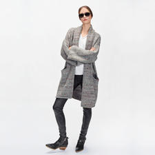 Zadig & Voltaire Tweed-Cardigan - Up to date in Form, in Farbe. Luxuriös im Material: Der Oversize-Cardigan von Zadig & Voltaire.