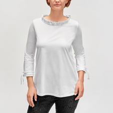 TWINSET Rüschen-Shirt - Vom Basic zum modischen Blickfang: Das Rüschen-Shirt von TWINSET.