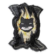 Zadig & Voltaire-Tuch Black Cat - Rock. Grunge. New Romantic: das eine Tuch für alle Trends. Von Zadig & Voltaire.
