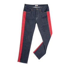 Zadig & Voltaire Galon-Jeans - Galon-Jeans auf rockig-coole Zadig-Art: Gemalt statt gewebt.
