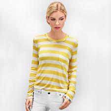Zadig & Voltaire Metallic-Paint-Streifenshirt - Trend-Upgrade für das kultige Metallic-Paint-Shirt von Zadig & Voltaire: maritime Streifen.