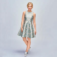 Sly 010 Swing-Dress - Mode-Must-have Swinging-Sixties-Kleid: bei Sly 010 perfekt getroffen in Farbe, Dessin und Material.
