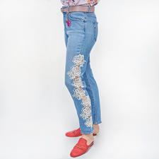 TWINSET Spitzen-Jeans - Denim trendgerecht gepimpt – vom Experten für Spitze: TWINSET.