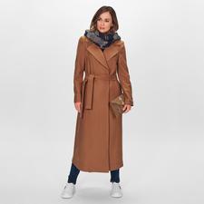 Liu Jo Maxi-Mantel - Fashion Favorit Maxi-Camel-Coat: Vom italienischen In-Label Liu Jo. Für nur 299,- Euro.