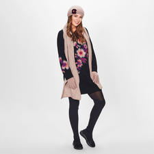 TWINSET Blüten-Longpulli - TWINSET trifft den Flower-Trend & die angesagt lange Pullover-Form.