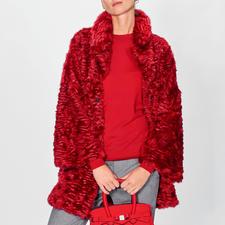 Ainea Fake-Fur-Persianerjacke - Presse- und Blogger-Liebling: Fake Fur vom jungen italienischen Label Ainea.