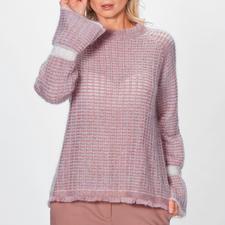 Stefanel Couture-Pullover - Hochmodisch und außergewöhnlich couturig: der Mohair-Pullover in 4 Trendfarben. Von Stefanel/Italien.