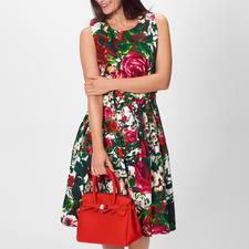 Samantha Sung Rosen-Kleid - Key-Look Kleid + Blüten-Trend: schon immer die Spezialität von Samantha Sung.