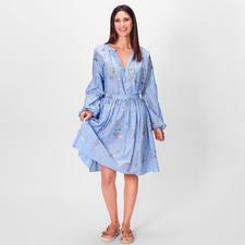 Blugirl Embroidery-Sommerbluse oder -Rock - Blugirls luftig-leichte Sommer-Kombi aus Schlupf-Bluse und Swing-Rock punktet modisch 5-fach.