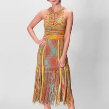 M Missoni Ethno-Kleid - Summer-Love Hippie-Ethno-Kleid – aufwändig gestrickt, gehäkelt und geknüpft. Vom Meister der Maschen: M Missoni.