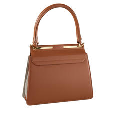 Tablet-Bag, Cognac