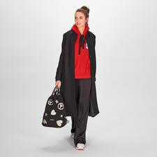 Be Blumarine Patch-Sweater - Topmodischer Designer-Sweater von Be Blumarine: Trendfarbe Rot. Label-Patch. Breite Rips-Schleife.