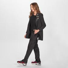 Pinko Oversize-Blazer - Der schwarze Blazer in seiner wohl modischsten und vielseitigsten Form: mit abnehmbaren Schmuckbroschen.