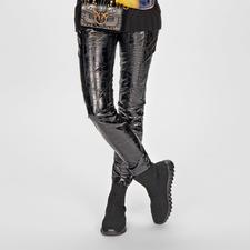 Pinko Kroko-Leggings - Pinkos Kroko-Leggings sind kaum von echten Leder-Modellen zu unterscheiden.