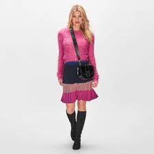 Pinko Flausch-Cardigan - Farb- und Materialtrend perfekt vereint: der pinke Cardigan mit Kuschel-Feeling, aber ohne lästiges Flusen.